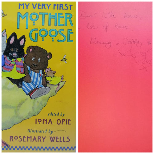 My very first Mother Goose Rosemary Wells
