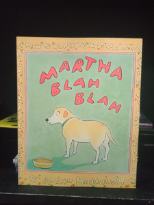 Martha Blah Blah By Susan Meddaugh
