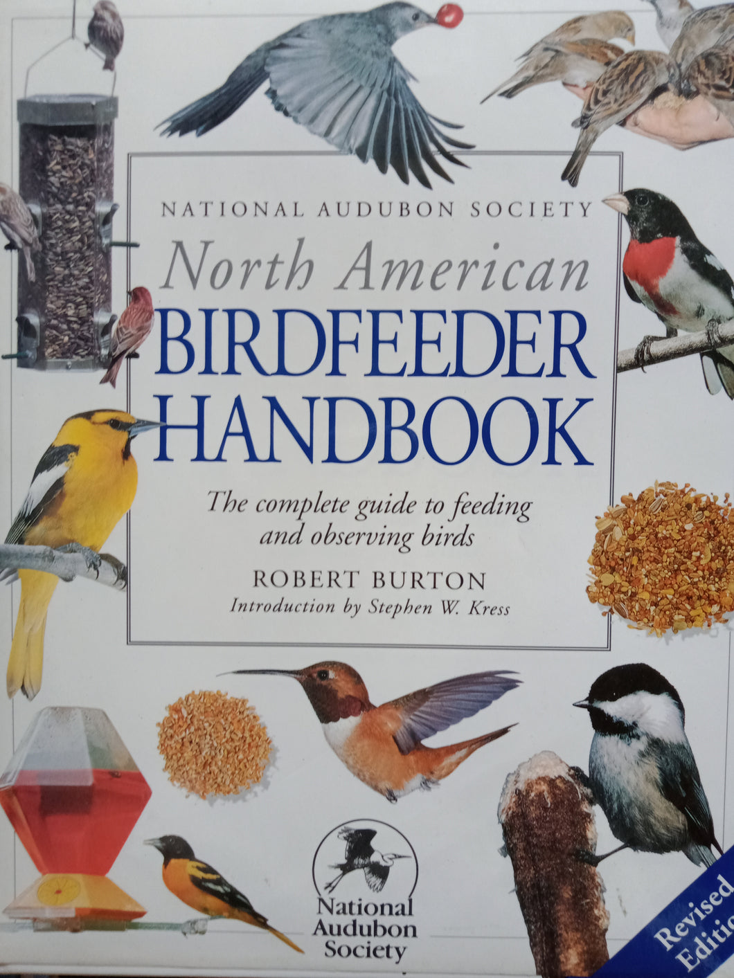 Bird feeder Handbook by Robert Burton