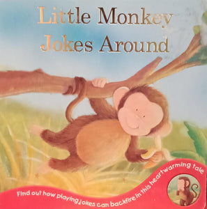 Little monkey jokes around