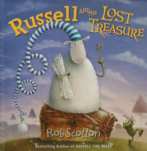 Russell and the lost treasure by Rob Scotton