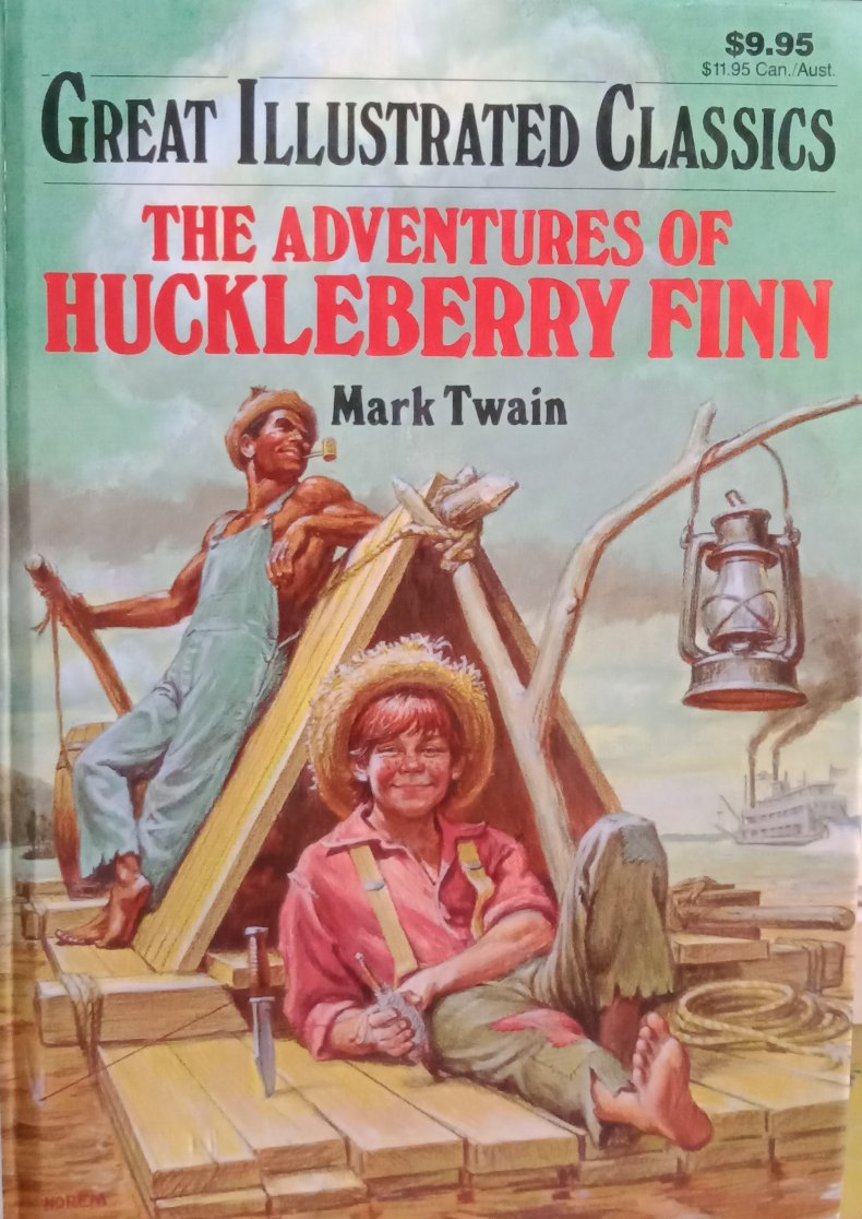 The adventures of hockleberry finn by mark twain