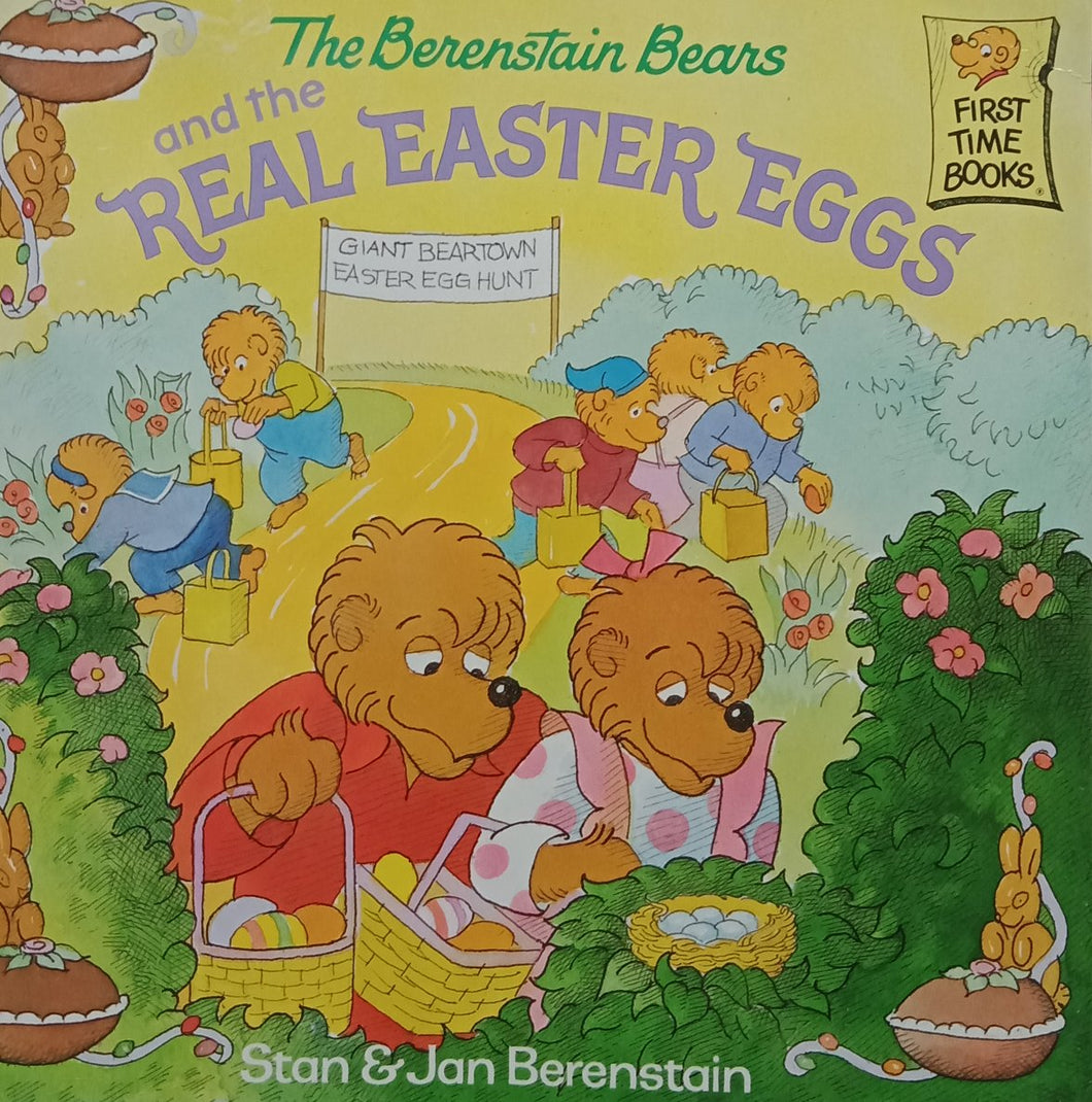 The berenstain bears and the real easter eggs by stan