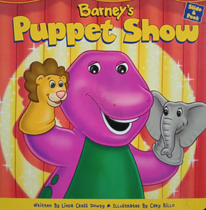 Barney puppet show by linda cress