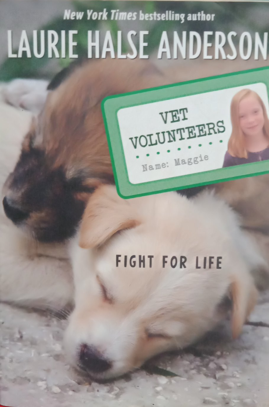 Vet volunteers fight for Life By Laurei Halse Anderson