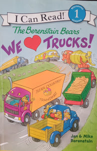 The Berenstrain we Love Trucks! By Jan & mike berenstain