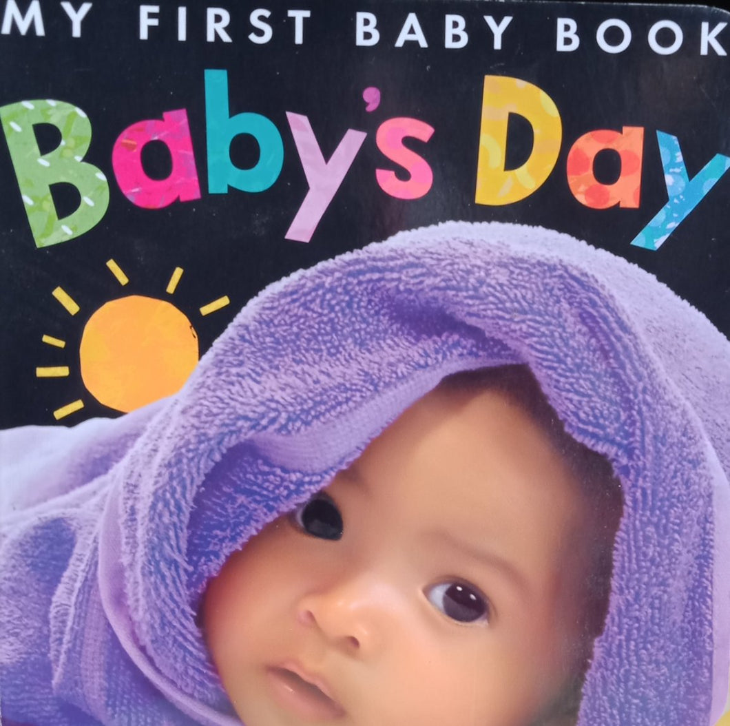 My first baby Book Baby's Day