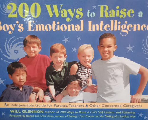 200 Ways to raise a Boy's Emotional Intelligence By Will Glennon