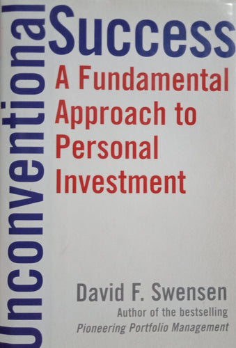 Unconventional success by david swensen