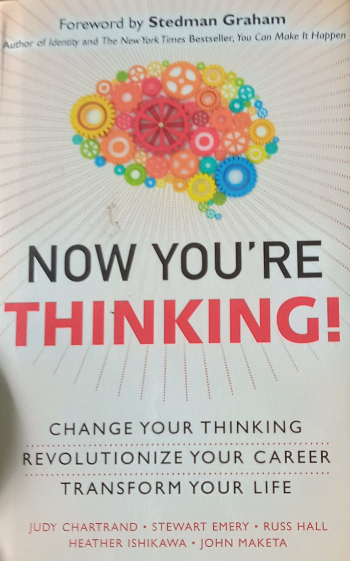 Now You're Thinking by Stedman Graham