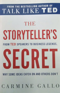 The Story Tellers Secret By Carmine Gallo