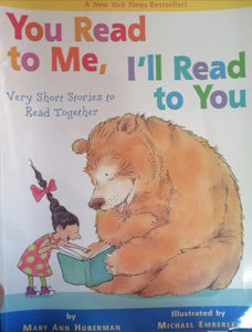 You read to me,I'll read to you by Mary Ann Hoberman
