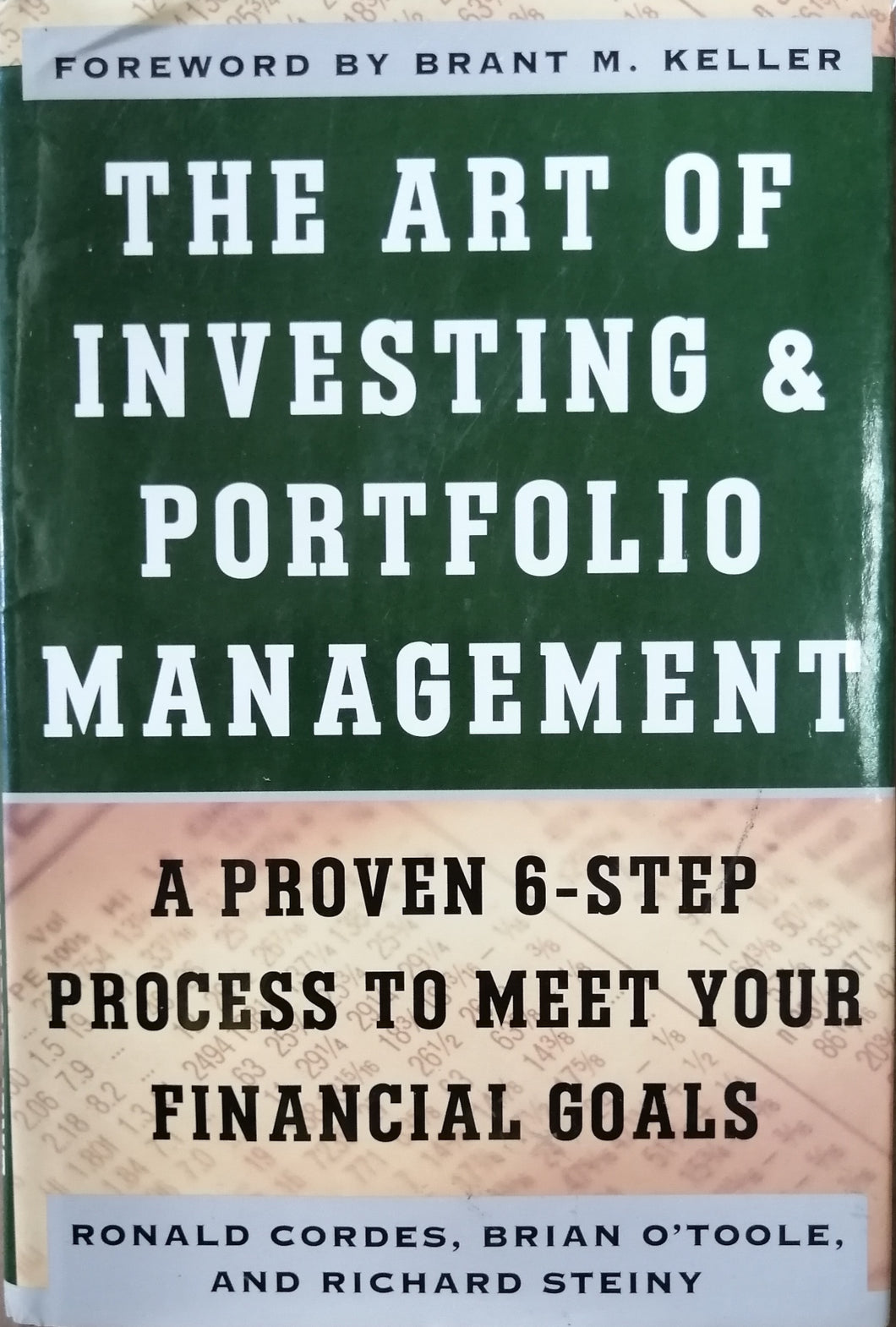 The art of investing & portfolio management by Ronald cordes
