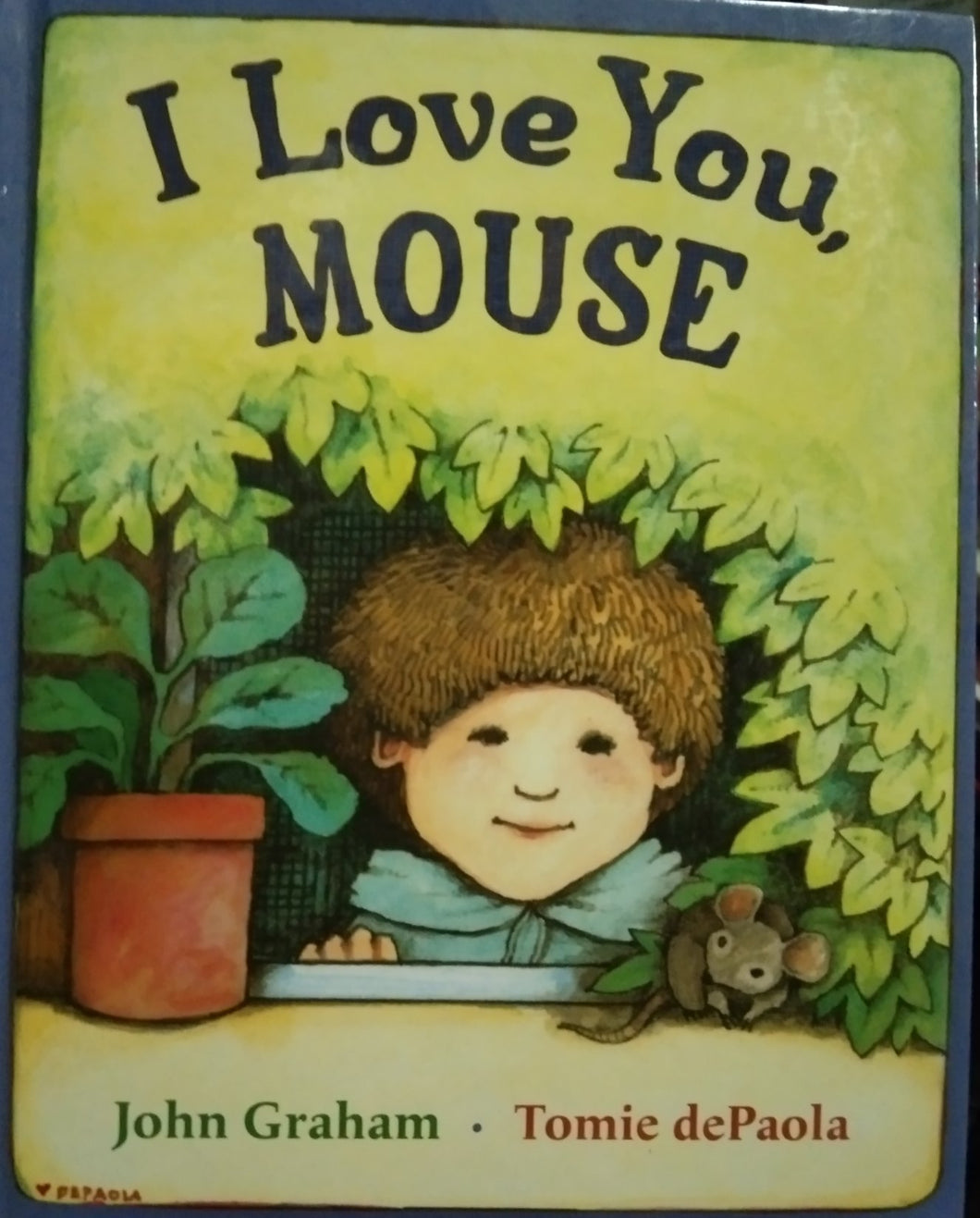 I love you mouse by graham