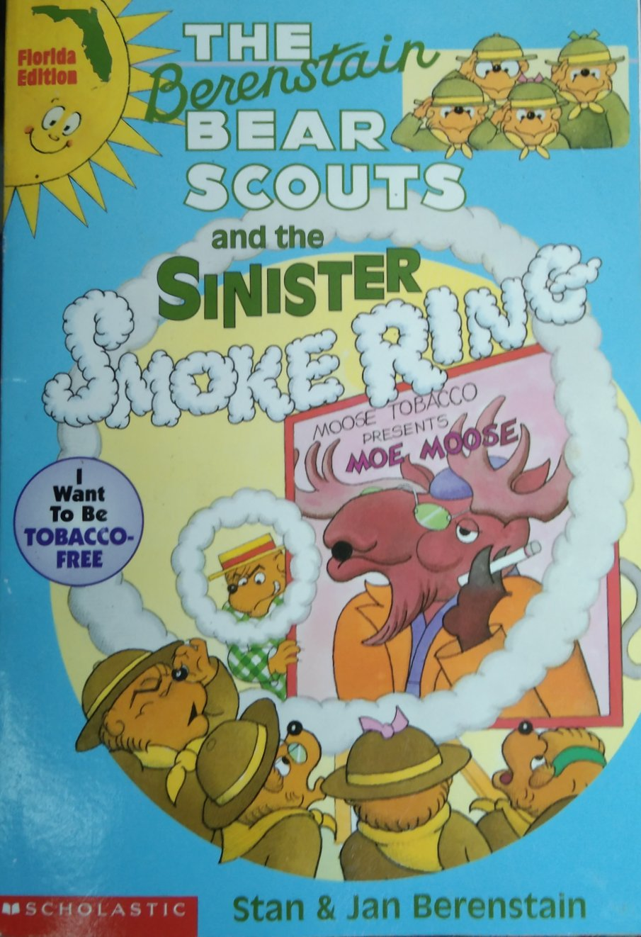 The berenstain bears scout and the sinister by stan