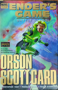 Enders Game: battle school  by orson scottcard (graphic Novel)