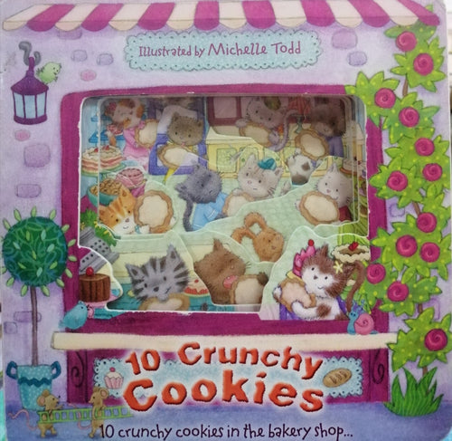 10 crunchy cookies by: Michelle Todd