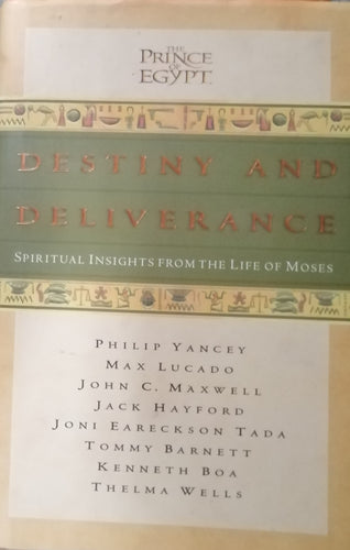 Destiny and deliverance by Philip Yancey
