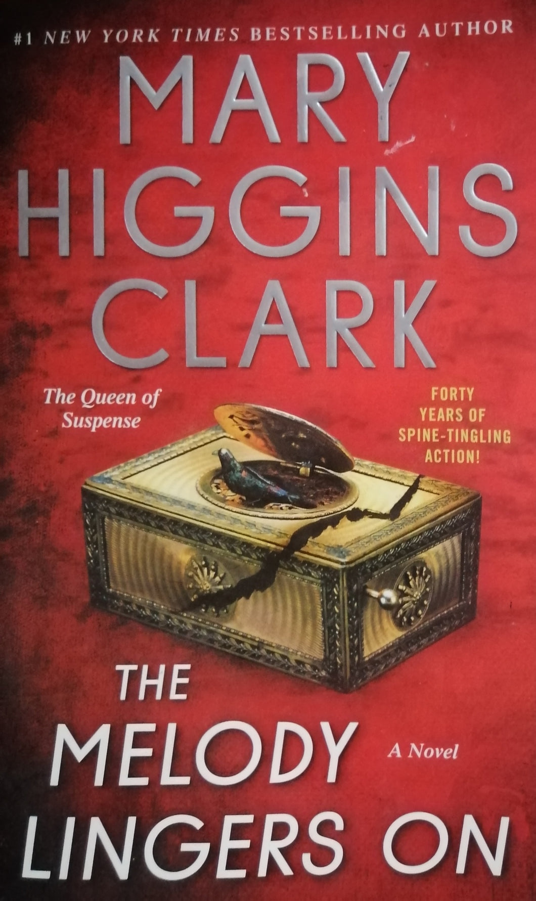 The melody lingsers on by Mary Higgins Clark