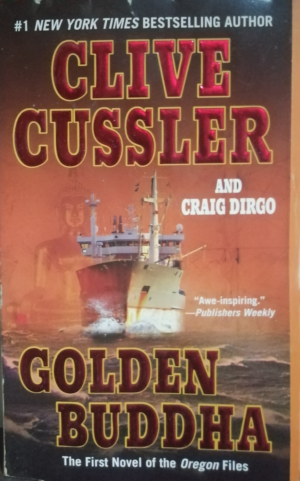 Golden Buddha By Clie Cussler