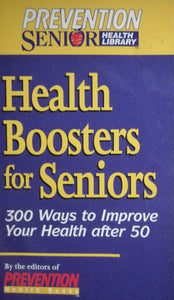 Health boosters for seniors
