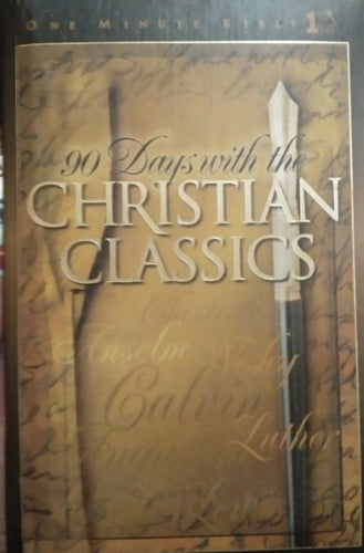 90 days with christian classics