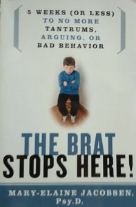 The brat stops here by mary elaine