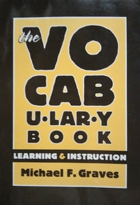 The vocabulary book by mickael graves