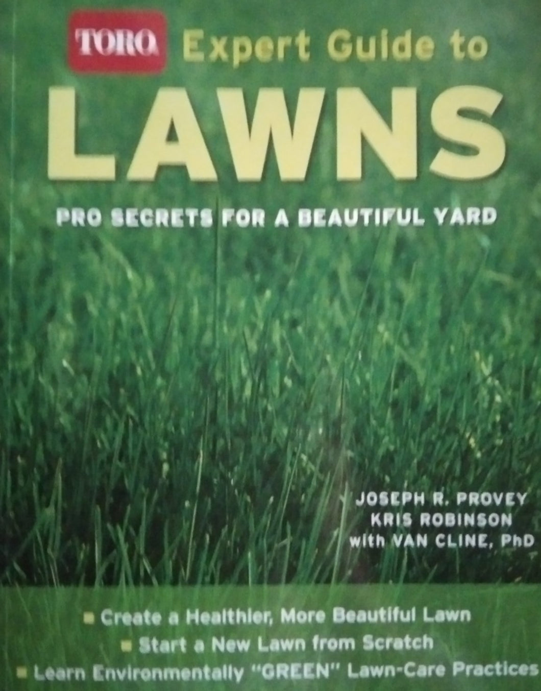 Expert guide to lawns by joseph provey