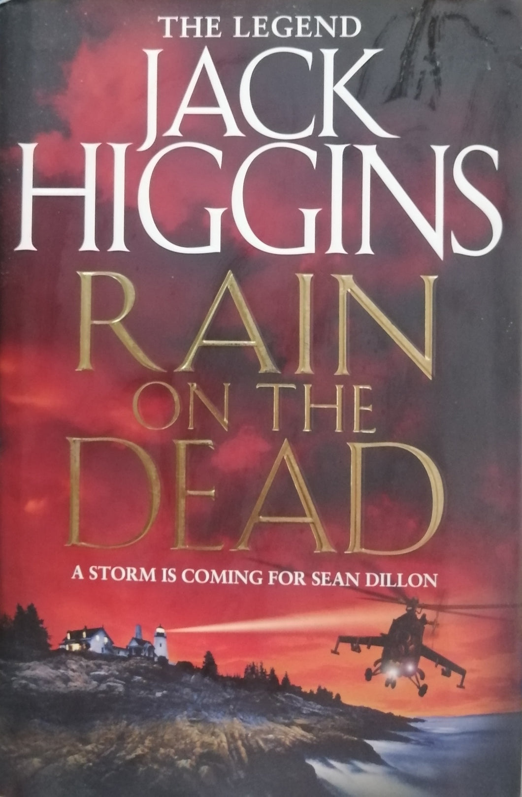 Rain on the dead by Jack Higgins