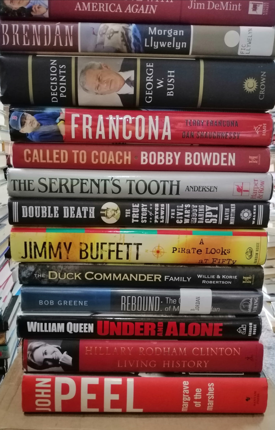 Biography books-Bundle(29)