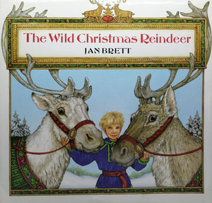 The Wild Christmas Reinder by Jam Brett