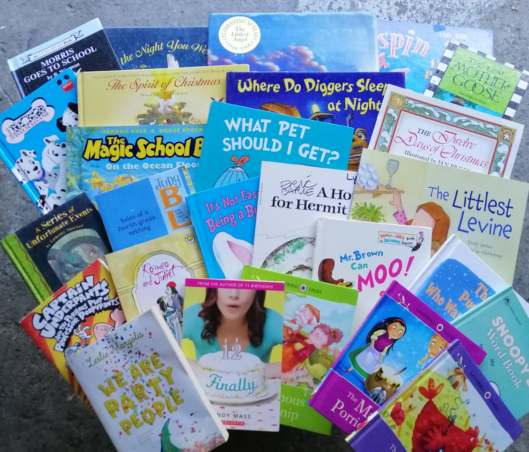 Children's Book Bundle (2) toddler to young adult