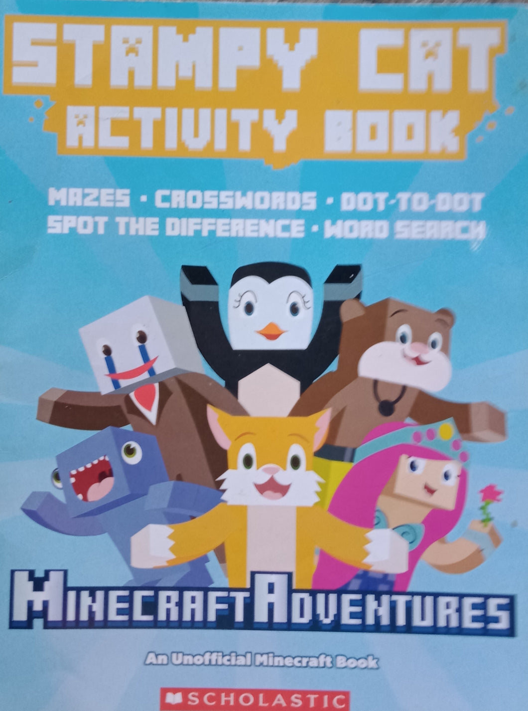 Stamy Cat Activity Book