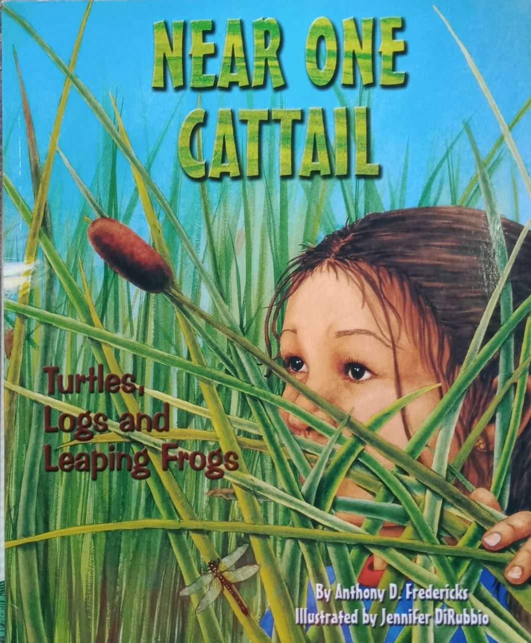 Near One Cattail by Anthony Fredericks