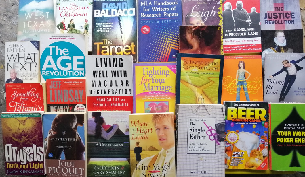 Small Book Bundle -Fiction and Nonfiction(46)