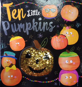 Ten Little Pumpkins by Lara Ede