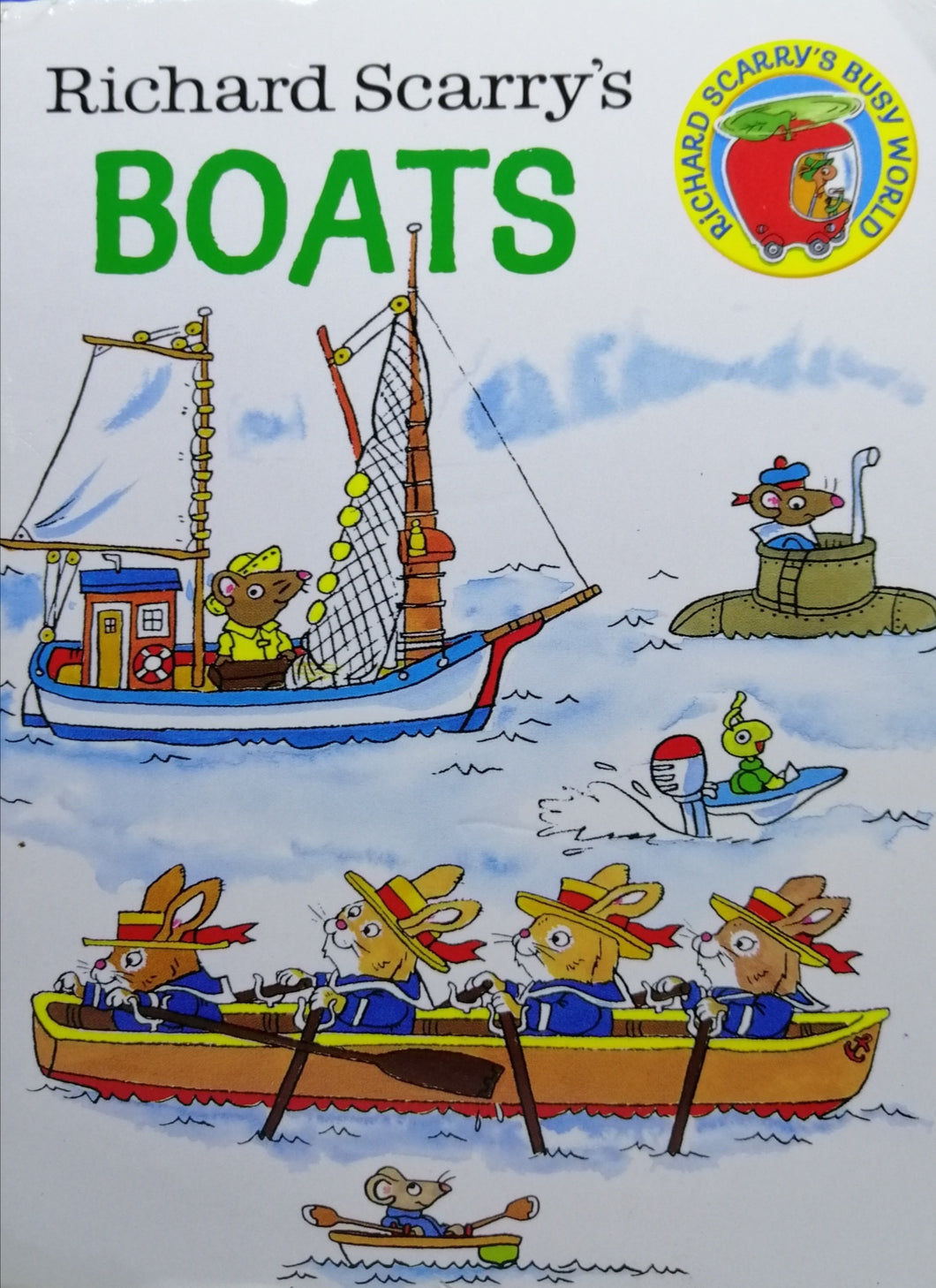 BOATS   by Richard Scarry