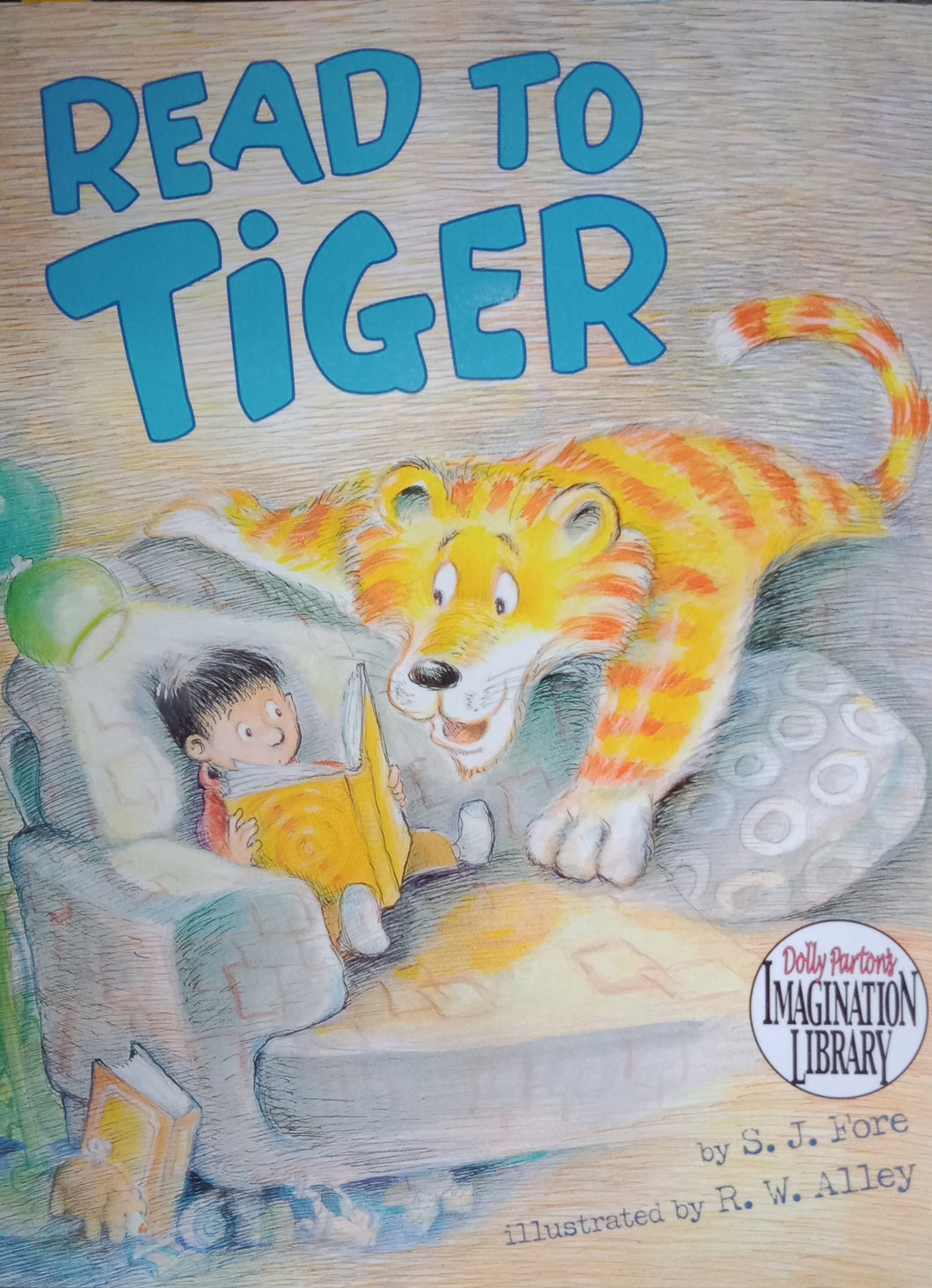 Read To Tiger by S.J. Fore