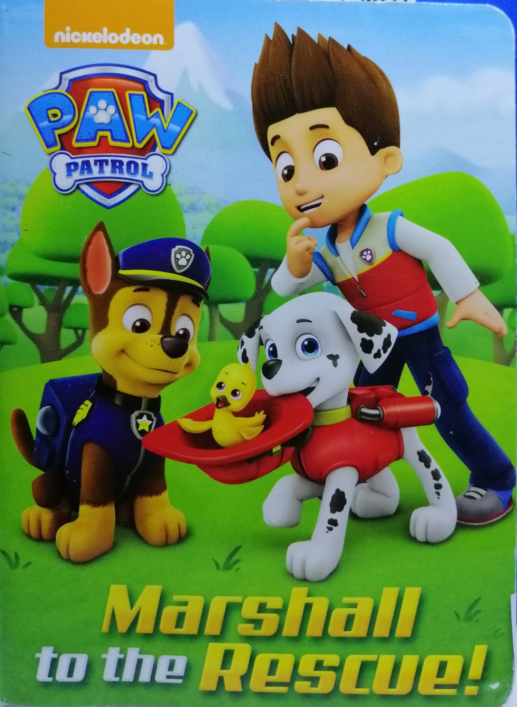 Paw Patrol Marshall to the Rescue!