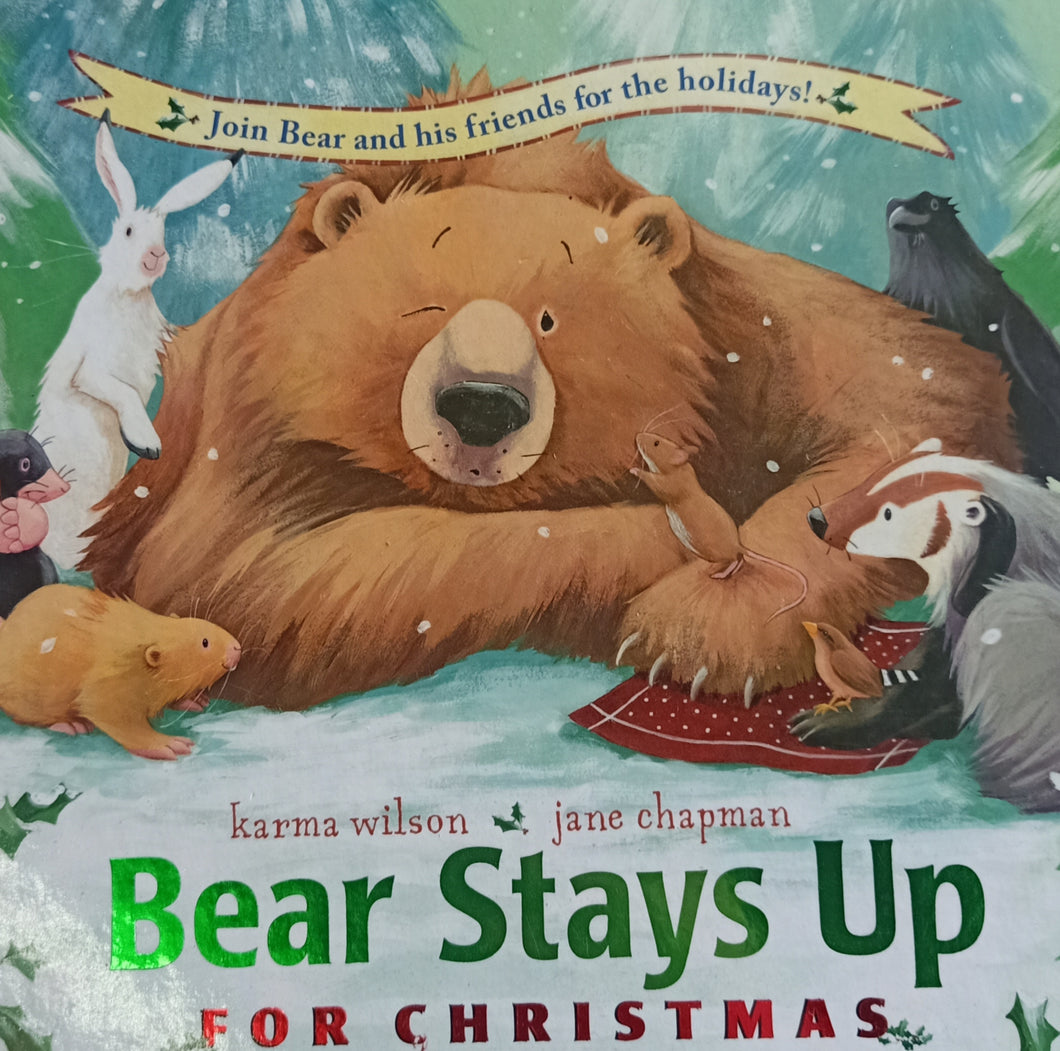 Bear Stays Up For Christmas by Jane Chapman