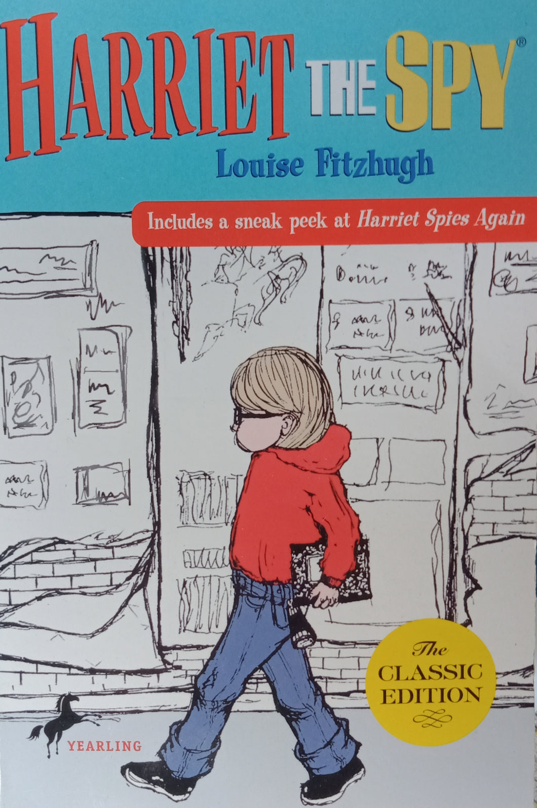 Harriest The Spy by Louise Fitzhugh