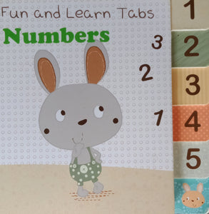 Fun And Learn Tabs Numbers 321