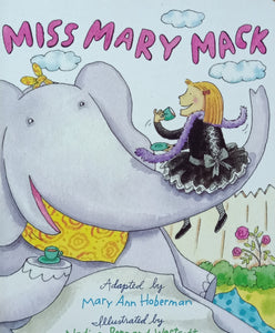 Miss Mary Mack by Mary Ann Hoberman