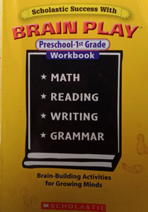 Brain Play Pre School 1st Grade