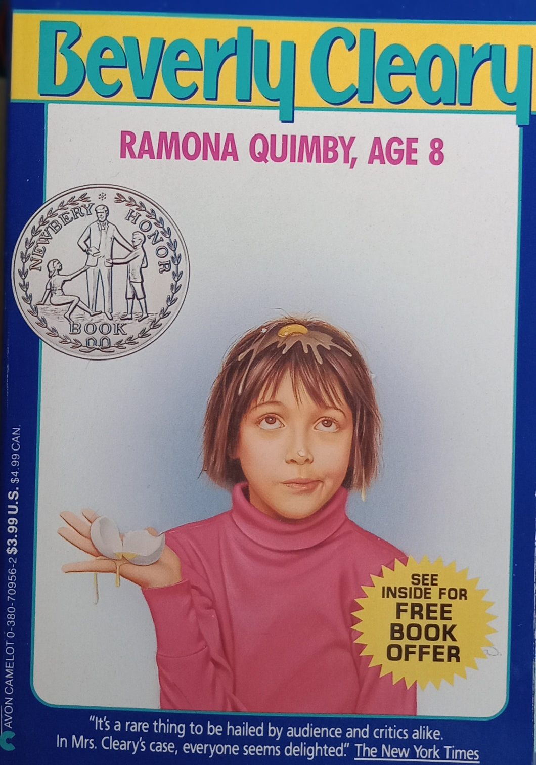 Ramona Quimby ,Age 8 by Beverly Cleary