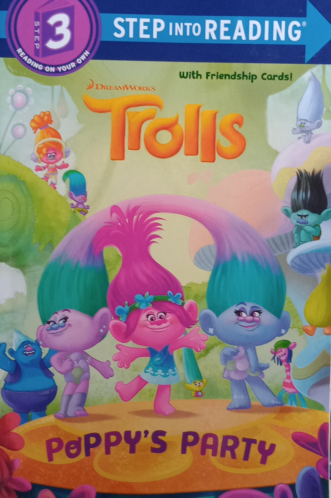 Trolls : Poppy's Party by Frank Berios