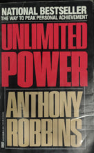 Load image into Gallery viewer, Unlimited Power by Anthony Robbins