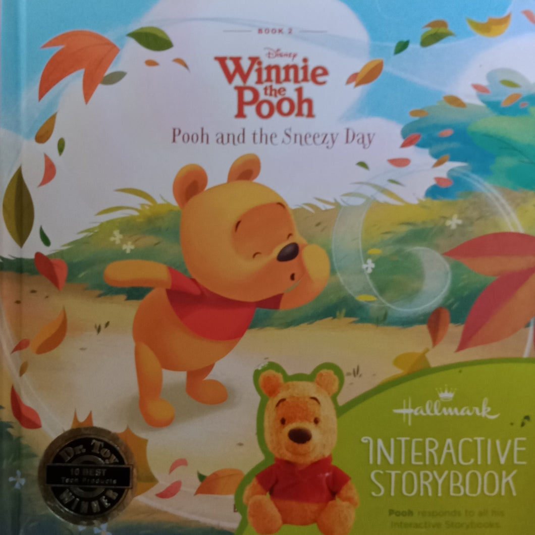 Winnie The Pooh : Pooh And The Sneezy Day by Linda Staten