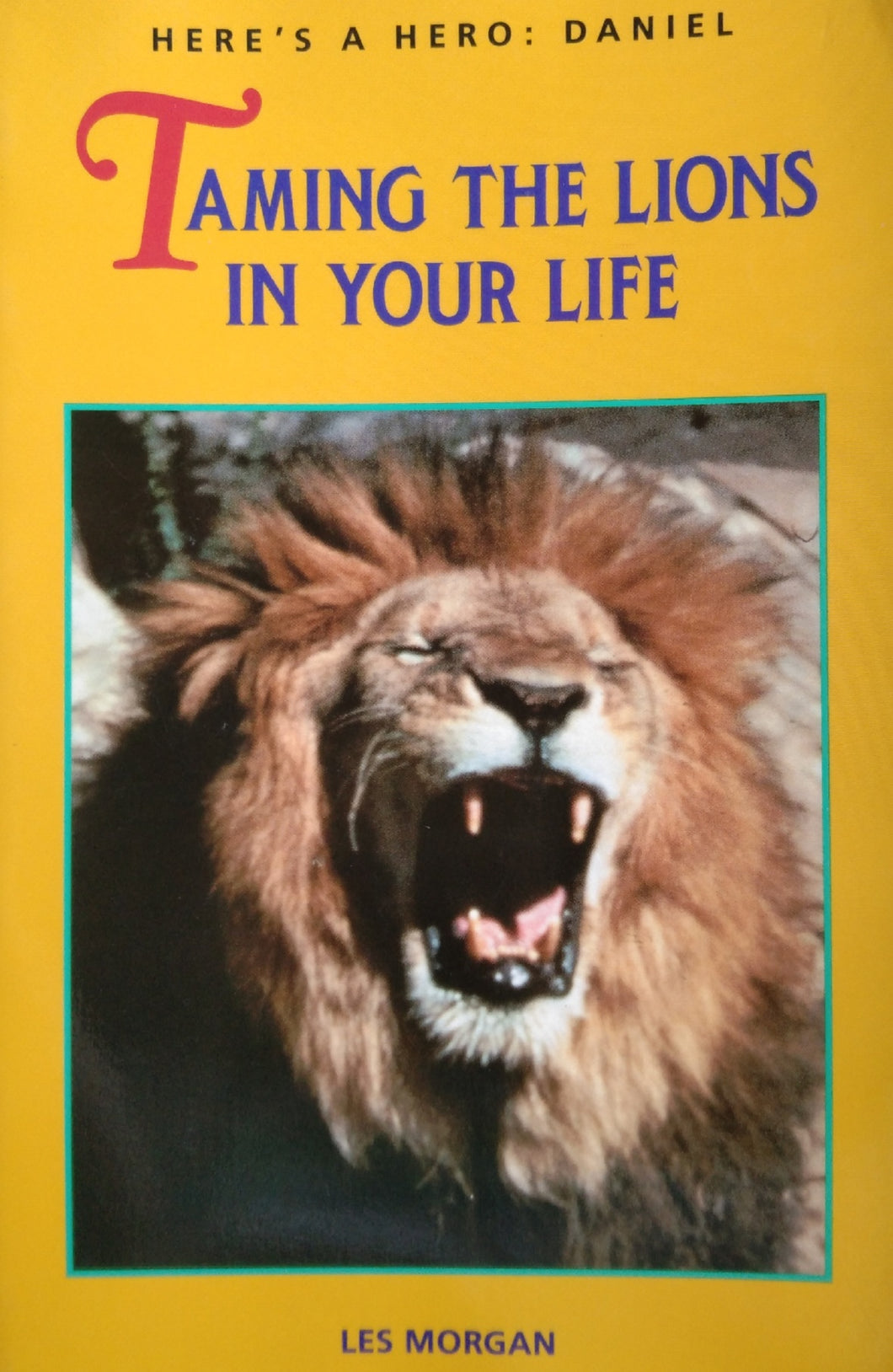 Tamibg The Lions In Your Life by Les Morgan